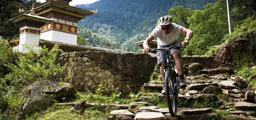 Mountain Biking in Bhutan