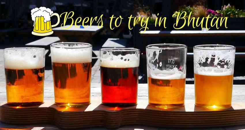Beers in Bhutan